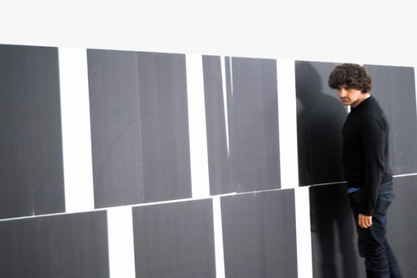Interview Wade Guyton about efficiency, inner logic and floors