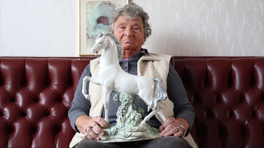 Lisa-Marie Vlietstra, Grandmother With Horse, 2012 (Still)