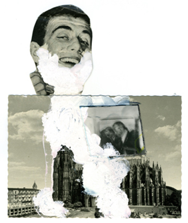 5. a) Vostell Collage 67 E1 V 3 r