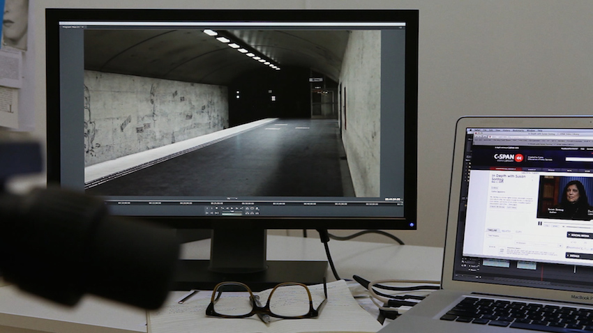 Lisa Tan, Notes From Underground (2013), video still