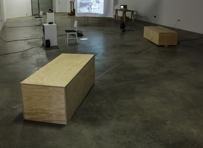 Simone Forti, Platforms, 1961, Sounding, 2012, ©The Box LA