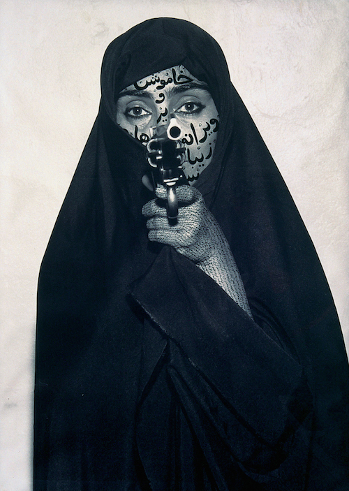 Shirin Neshat Faceless, 1994 RC-Print und Tinte 132,1 × 80,6 cm